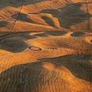 Palouse Contours V Poster by Latah Trail Foundation