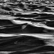 Palouse In Black And White Poster
