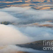 Palouse Morning Mist Poster