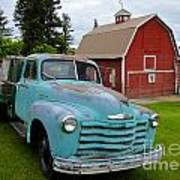 Palouse Truck Poster