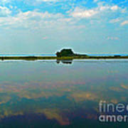 Pamlico Sound And Silence Poster