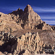 Panaca Sandstone Formations Cathedral Gorge State Park Nevada Poster