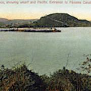 Panama Canal La Boca Poster