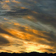 Panamint Sunset Poster