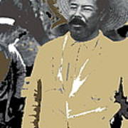Pancho Villa  Wearing Sombrero Unknown Location 1914-1920-2013 Poster