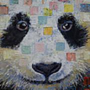Panda Checkers Poster