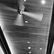 Paneled Ceiling Fans Poster