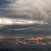 Panorama Clearing Summer Storm Bryce Canyon National Park Utah Poster