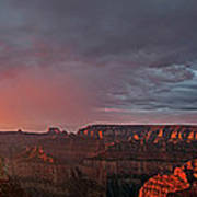 Panorama North Rim Grand Canyon National Park Arizona Poster