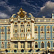 Panorama Of Catherine Palace Poster by David Smith