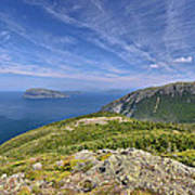 Panorama Of The Outer Bay Of Islands, Newfoundland Poster