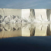 Panorama Of Iceberg Ross Sea Antarctica Poster