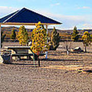 Panorama Outdoor Community Area Poster