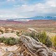 Panorama Point - La Sal Mountains - Arches National Park - Ut Poster