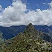 Panoramic Machu Picchu Poster