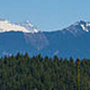 Panoramic Rainier Rt.25 Poster