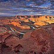Panoramic Sunrise Over Dead Horse Point State Park Poster