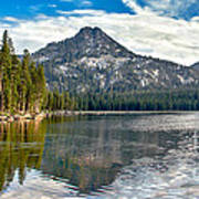 Panoramic View Of Anthony Lake Poster