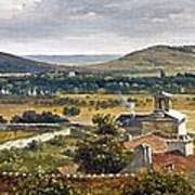 Panoramic View Of The Ile-de-france Poster