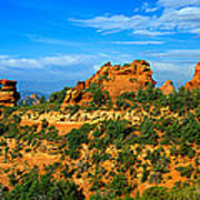 Panoramic View, Sedona, Arizona Poster