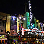 Pantages Theater Poster