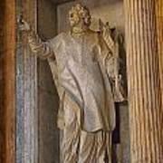 Pantheon Statue 2 Poster