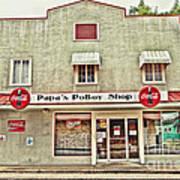 Papa's Poboy Shop Poster