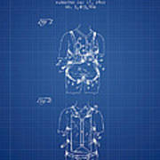 Parachute Harness Patent From 1922 - Blueprint Poster