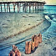 Paradise Cove Pier Poster