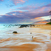 Paradise Dawn Poster by Mike  Dawson