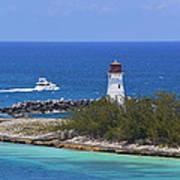 Paradise Island Lighthouse Poster