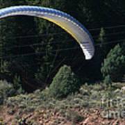 Paragliding Hazards Poster
