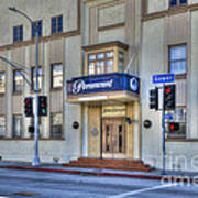 Paramount Movie Studio Hollywood Ca Poster