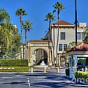 Paramount Studios Hollywood Movie Studio  Poster