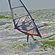 Parasurfing Poster by SC Heffner