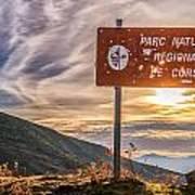 Parc Natural De Corse In The Balagne Region Of Corsica Poster