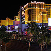 Paris And Planet Hollywood - Las Vegas - 01131 Poster