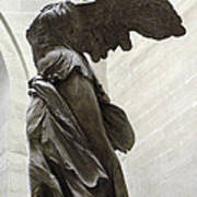 Paris Angel Louvre Museum- Winged Victory Of Samothrace Poster