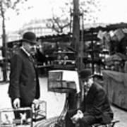 Paris Bird Vendors, 1900 Poster