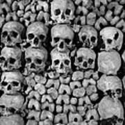 Paris Catacombs Poster