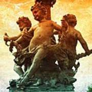 Paris Cherubs Poster