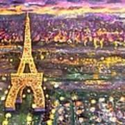 Paris City Of Lights Poster
