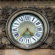Paris Clocks 1 Poster
