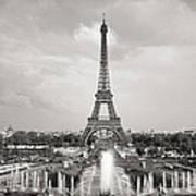 Paris Eiffel Tower Poster