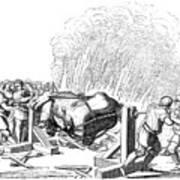 Paris Fete, 16th Century Poster