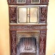 Paris Fireplace Poster