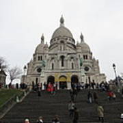 Paris France - Basilica Of The Sacred Heart - Sacre Coeur - 12125 Poster by DC Photographer