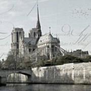 Paris History Poster