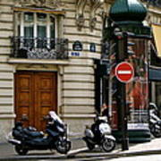 Paris Holiday Poster