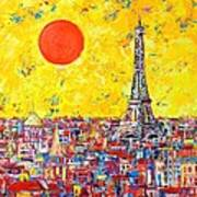 Paris In Sunlight Poster